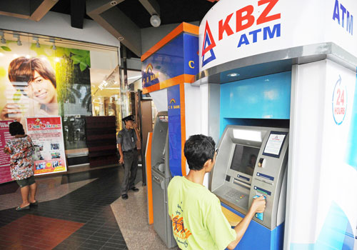 KBZ with first domestic credit cards in a decade