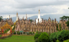 The complex of Kakku pagodas