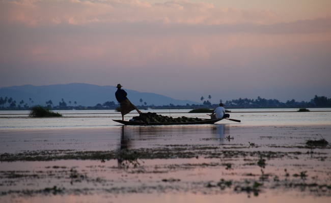 Intha people - the Children of the Inle Lake.