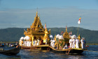 One of Myanmar's biggest events, the Phaung Daw Oo Pagoda Festival, will be held on the storied Inle Lake from September 21 until October 8 this year.