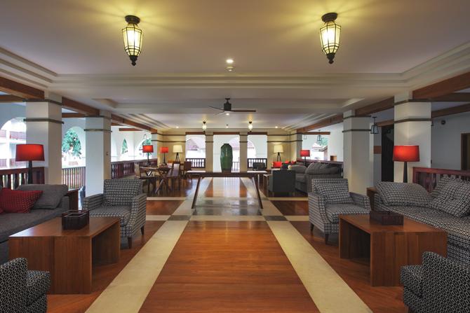 Sanctum Inle's lobby