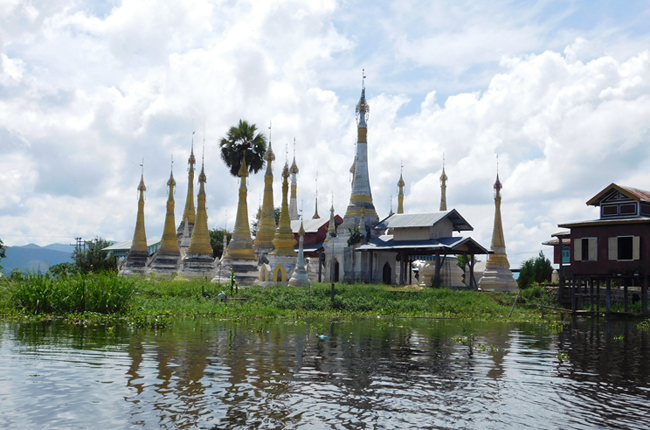 With skyrocketing numbers of tourists descending on the lake's stilted villages and floating gardens, Sanctum Inle Resort has introduced a full day tour to Sagar, a 538-year-old village in the southern-most reaches of the lake.