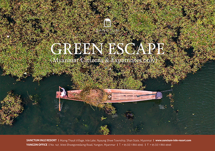 Green Escape 2020 Sanctum Inle Resort Inle Lake